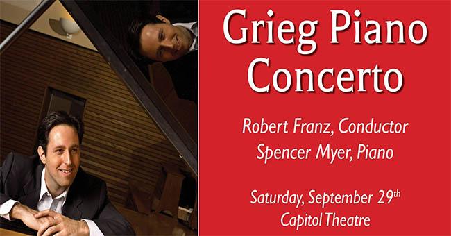 WSO Grieg Piano Concerto Poster