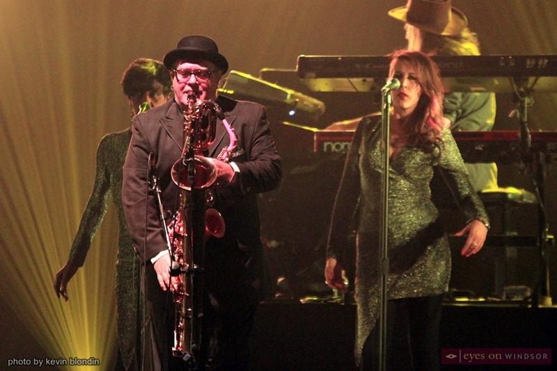 Australian Pink Floyd saxophonist Mike Kidson
