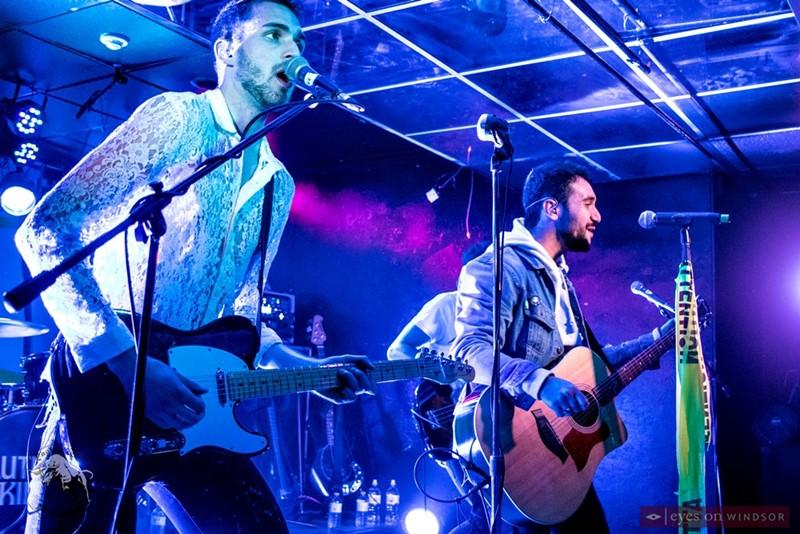 Autumn Kings band members Jake Diab and Joe Coccimiglio