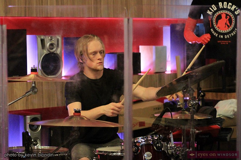 Drummer, Nick Predhomme of the Autumn Kings