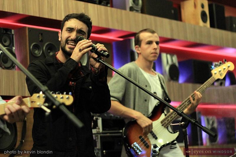 Autumn Kings band members Joseph Coccimiglio and Tibor Bognar