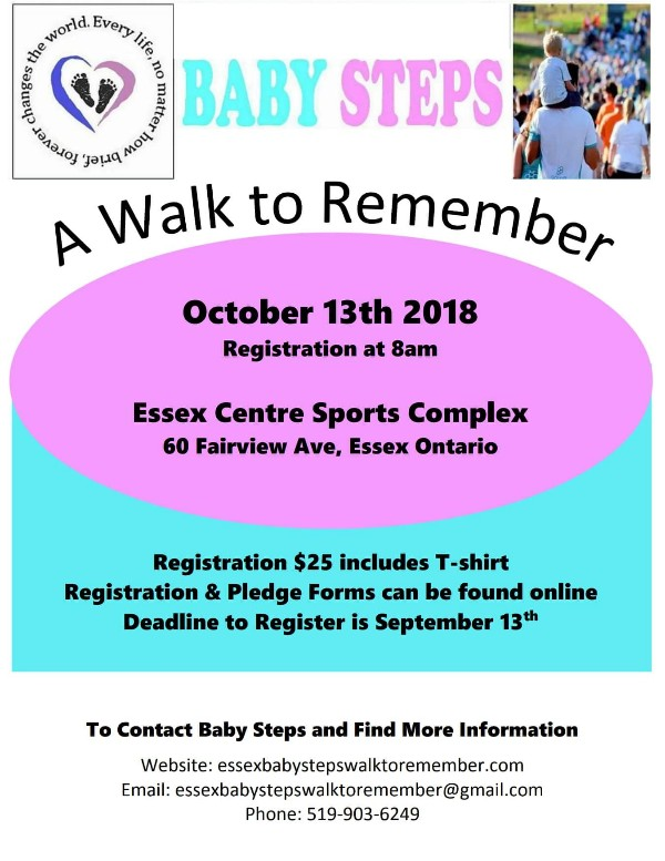 Essex Baby Steps To Remember Poster