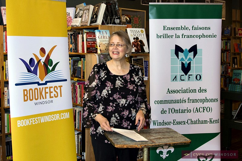 Sarah Jarvis, Chair of Bookfest Windsor