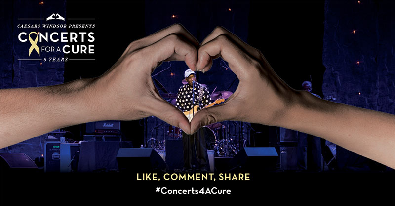 Caesars Windsor Concerts For A Cure Photo Featuring Buddy Guy