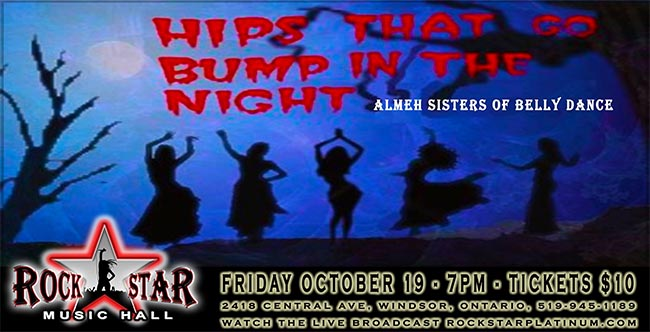 Hips That Go Bump In The Night Poster