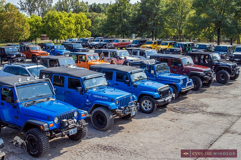 Jeep Jam Poker Run Windsor