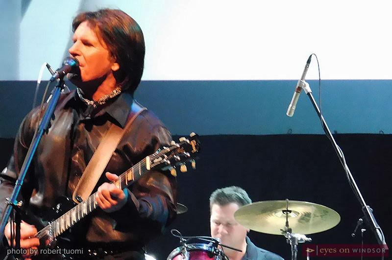 CCR John Fogerty impersonator John Forgery (left) and drummer Cliff Douglas