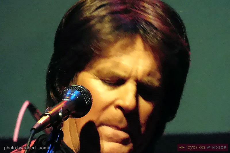 CCR John Fogerty impersonator John Forgery of Creedence Clearwater Survival