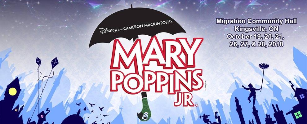 Mary Poppins Jr. Kingsville Migration Hall