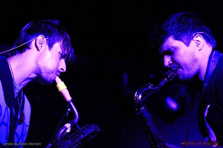 Moon Hooch's Techno Jazz Was All The Rave at Ann Arbor's Legendary Blind Pig