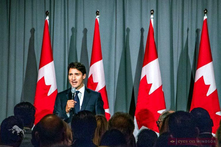 Prime Minister Trudeau Hosted Dinner Fundraiser at Art Gallery of Windsor
