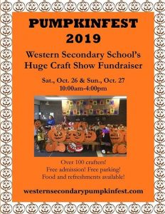 Western Secondary Pumpkinfest Poster