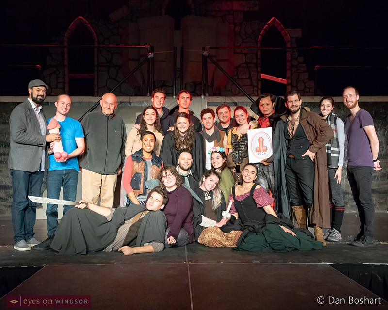 The cast and crew of Raise The Stakes