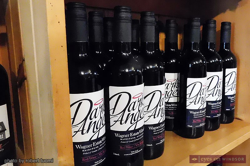 Wagner Estate Winery's Dark Angel Cabernet Sauvignon.