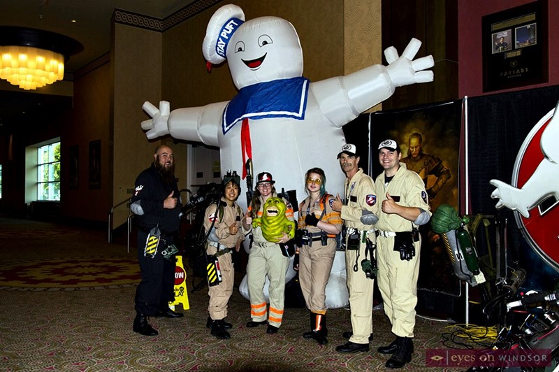 Great Lakes Ghostbusters Coalition at Windsor Comicon