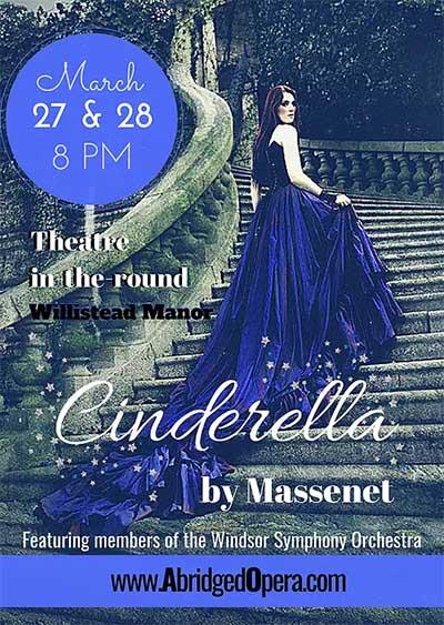 Abridged Opera Cinderella Poster