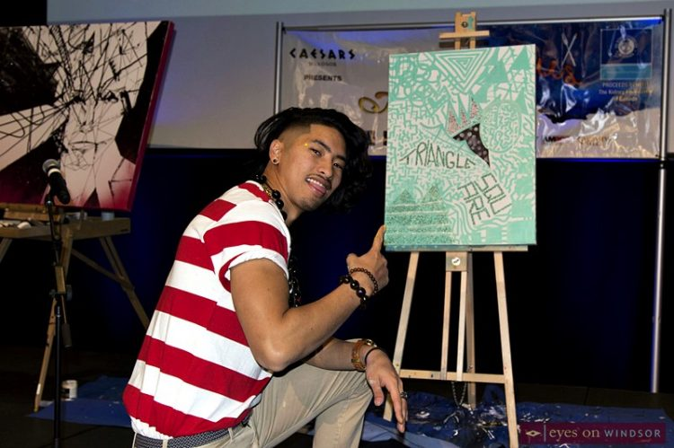 Artilicious Windsor's Live Art Battle Exciting Addition To Food & Art Event