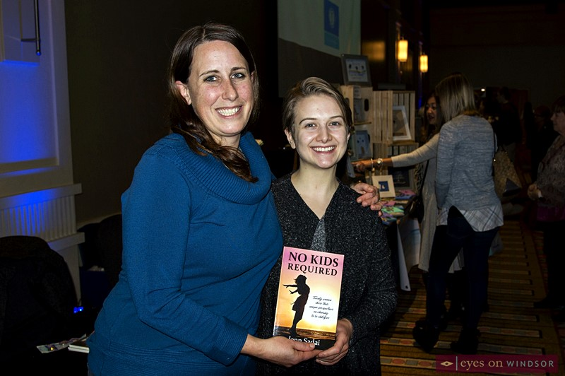 Author Jenn Sadai at Artilicious Windsor