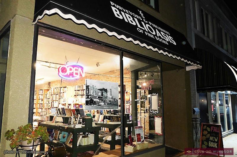 Biblioasis Bookstore Storefront