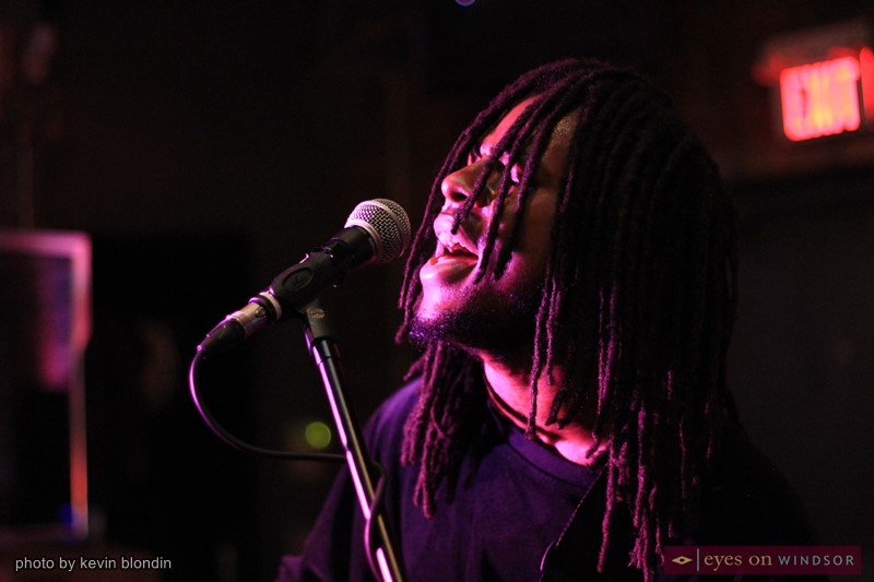 Blac Rabbit co-frontman Amiri Taylor