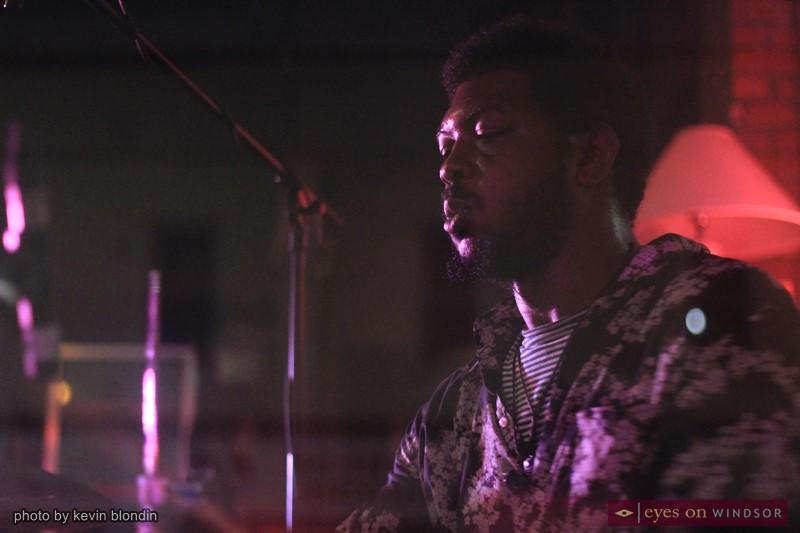 Blac Rabbit drummer Patrick Jone