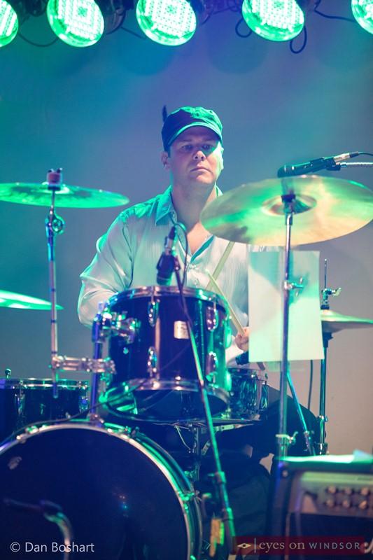 Blues Side Band drummer Matthew David