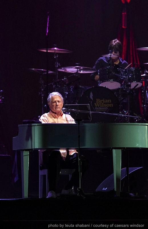 Brian Wilson on Piano