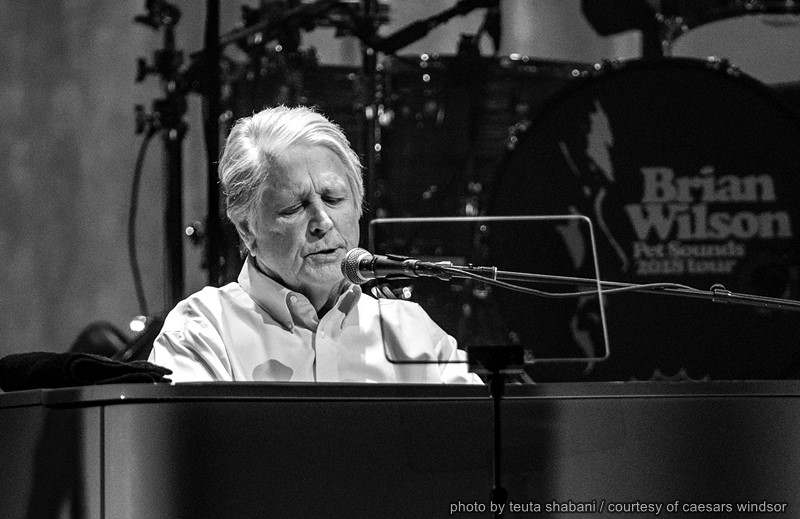 Brian Wilson performing at Caesars Windsor
