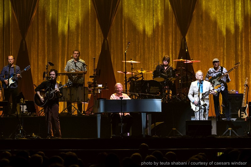Brian Wilson and his band performing at Caesars Windsor