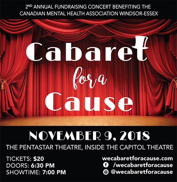 Cabaret For A Cause Poster