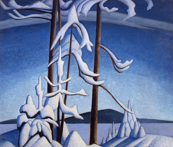 Group of Seven artist Lawren Harris' painting of Lake Superior