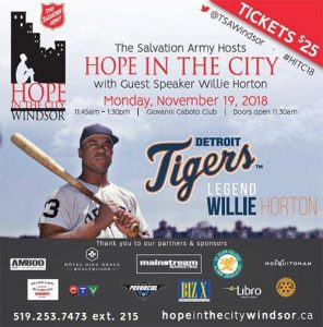 Hope In The City Luncheon Poster