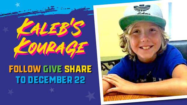Kaleb's Kourage Online Fundraising Campaign for Kaleb Houle's family.