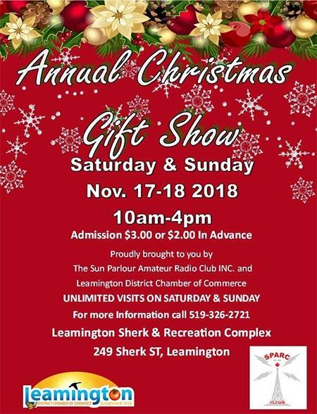 Leamington Annual Christmas Gift Show Poster