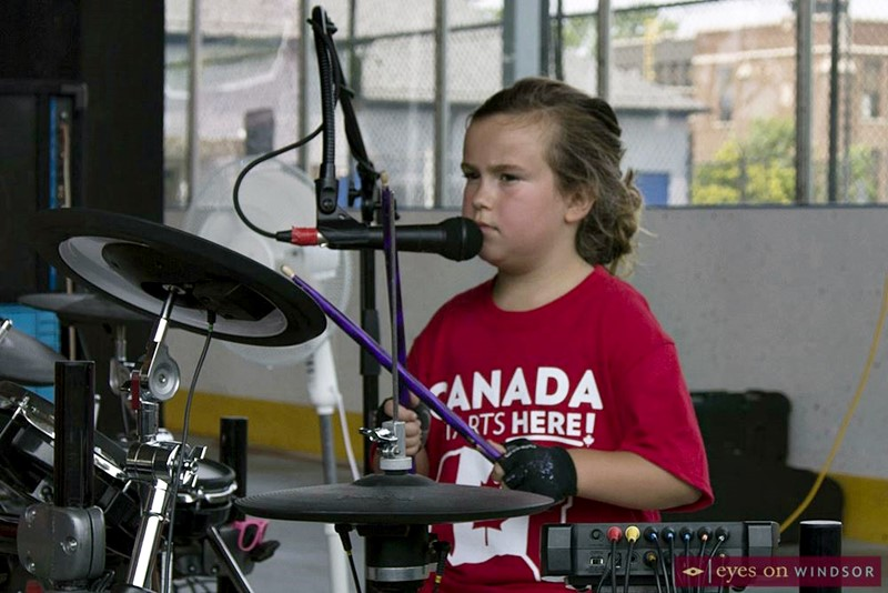 Leave Those Kids Alone drummer Addisyn Bonadonna