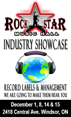 Rockstar Windsor Music Industry Showcase Sidebar Banner