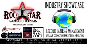 Rockstar Windsor Music Industry Showcase Banner