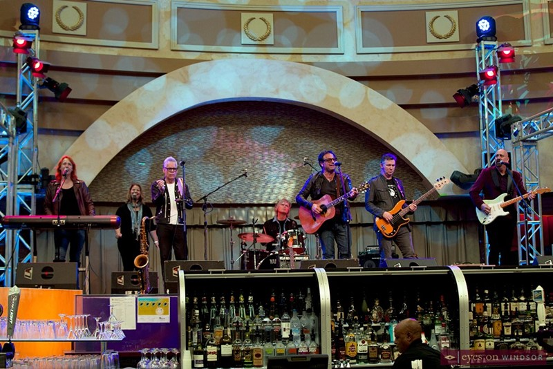 The S'Aints performing at Cosmos Lounge inside Caesars Windsor.