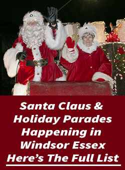 Windsor Essex Santa Claus Parades