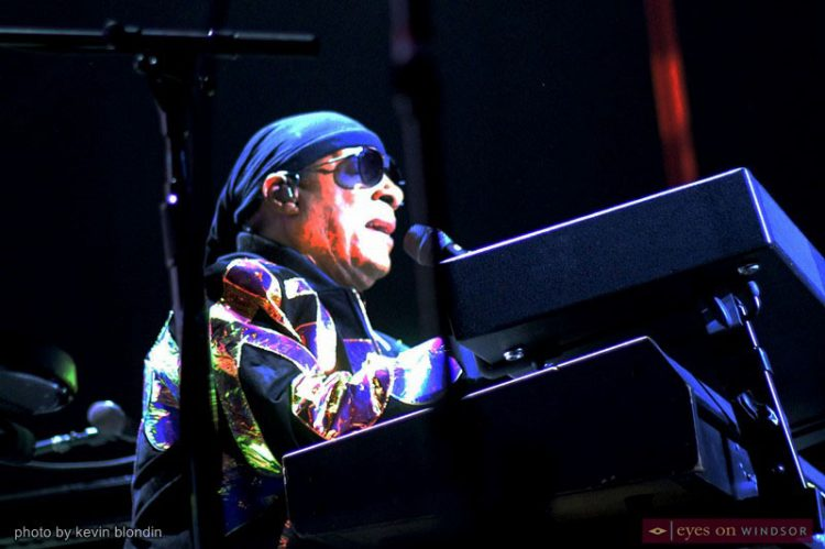 Stevie Wonder Fans Overjoyed With Interactive Song Party at Caesars Windsor