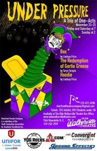 Riverfront Theatre Company Under Pressure Poster