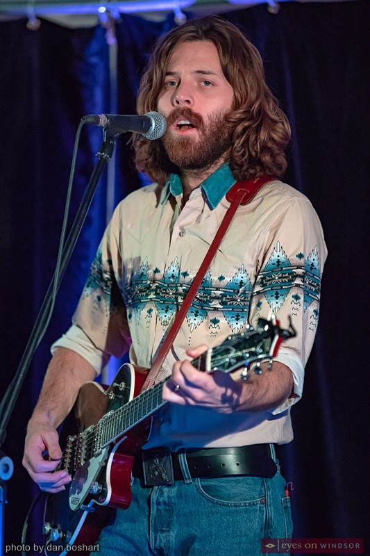 Union Duke's Rob McLaren (electric guitar, fiddle)