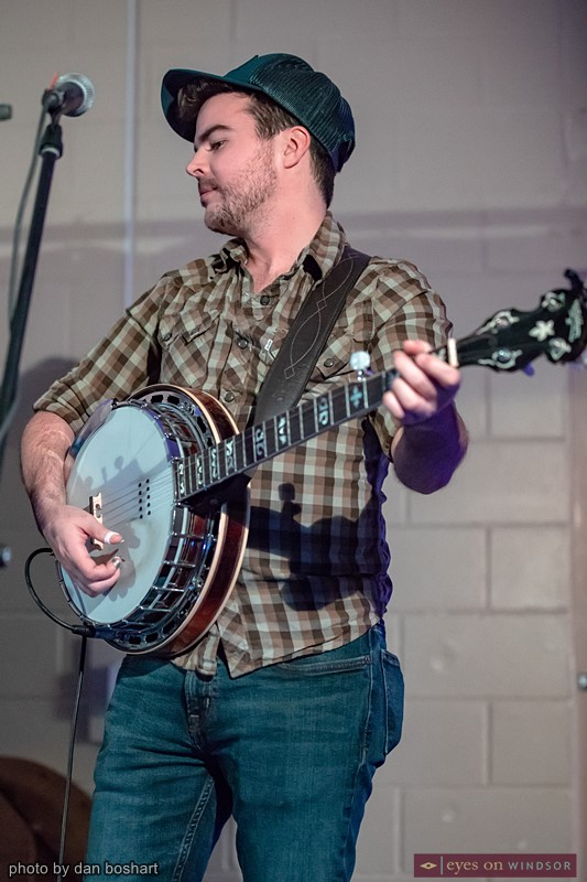 Union Duke's Jim McDonald (banjo)