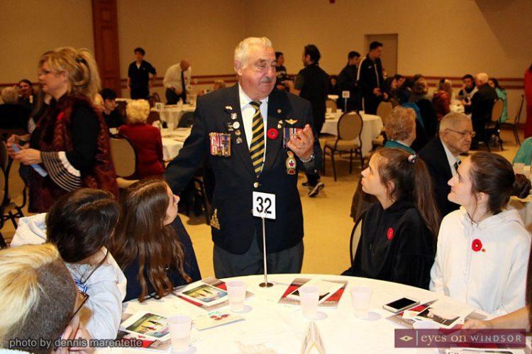 Windsor Veterans Appreciation Luncheon A Living History Classroom For Students