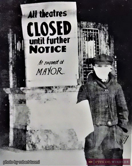 Photograph, part of the Chimczuk Museum's Spanish Flu: The Windsor Experience 1918 -1919 exhibit