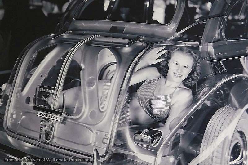 An old Detroit Car Show photo