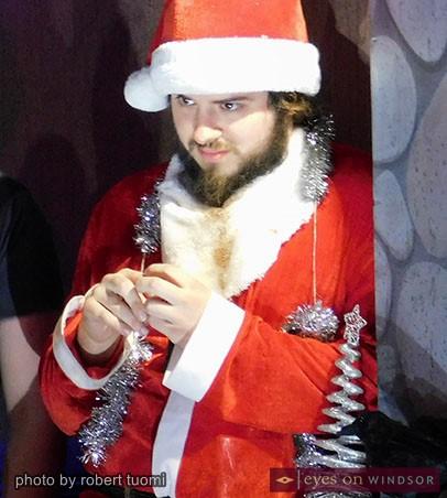 Another Fu**king Christmas Play, faux Santa, Sam Klasowitz