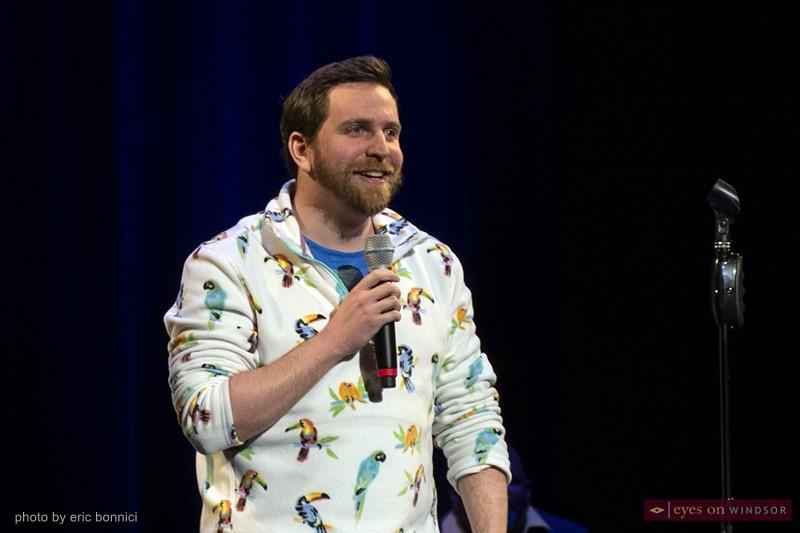 Comedian Brian Stoltz