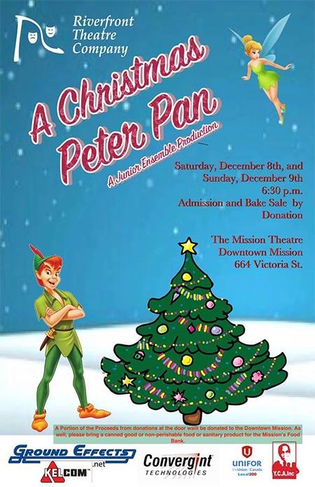 A Christmas Peter Pan Poster