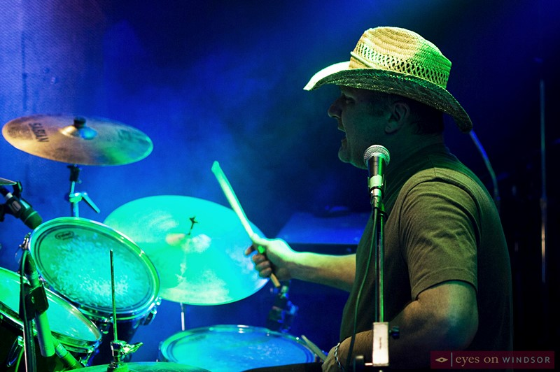 Dirt Road Jammers drummer Ron Gould